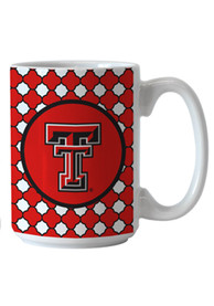 Texas Tech Red Raiders Quatrefoil Ceramic Mug
