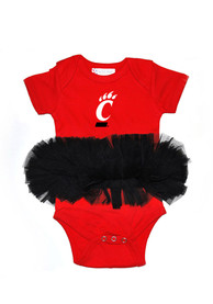 Cincinnati Bearcats Baby Red Tutu One Piece