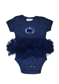 Penn State Nittany Lions Baby Navy Blue Tutu One Piece