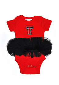 Texas Tech Red Raiders Baby Red Tutu One Piece