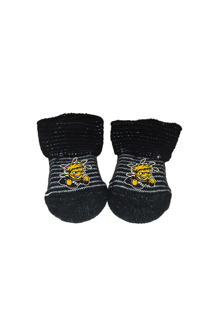 Wichita State Shockers Striped Baby Bootie Boxed Set - Image 1