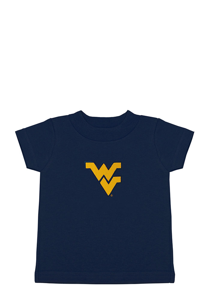 West Virginia Mountaineers Toddler Navy Blue Logo Short Sleeve T-Shirt - Image 1