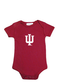 Indiana Hoosiers Baby Cardinal Lap Shoulder One Piece