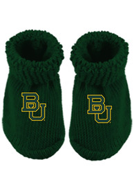 Baylor Bears Baby Team Color Bootie Boxed Set - Green