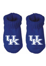 Kentucky Wildcats Baby Team Color Bootie Boxed Set - Blue