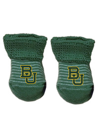 Baylor Bears Baby Stripe Bootie Boxed Set - Green
