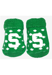 Michigan State Spartans Polka Dot Baby Bootie Boxed Set