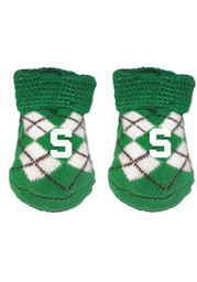 Michigan State Spartans Argyle Baby Bootie Boxed Set