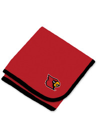 Louisville Cardinals Baby Team Color Blanket - Red