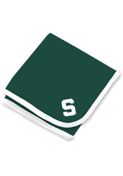 Michigan State Spartans Team Color Baby Blanket