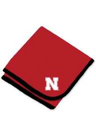 Nebraska Cornhuskers Baby Team Color Blanket - Red