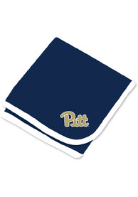 Pitt Panthers Baby Team Color Blanket - Navy Blue