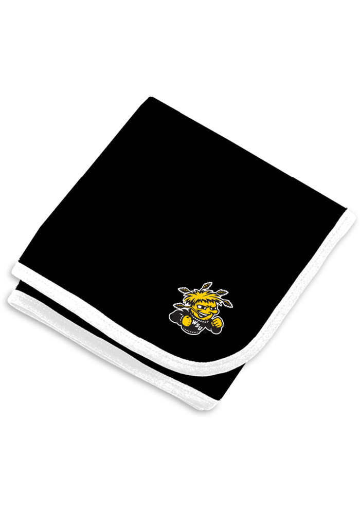 Wichita State Shockers Team Color Baby Blanket - Image 1