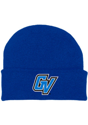 Grand Valley State Lakers Blue Team Color Newborn Knit Hat