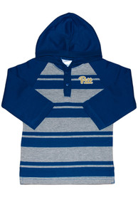 Pitt Panthers Toddler Rugby Stripe T-Shirt - Navy Blue