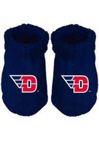 Dayton Flyers Baby Team Logo Bootie Boxed Set - Blue