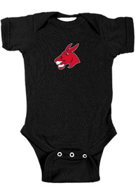 Central Missouri Mules Baby Bailey One Piece - Black