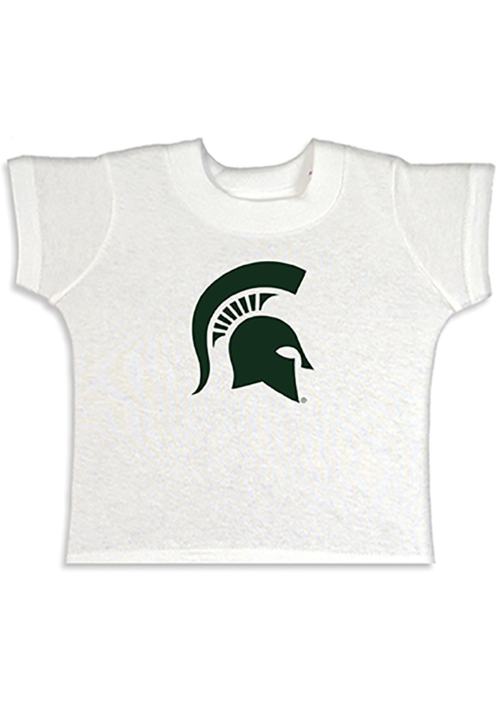 Michigan State Spartans Toddler White Primary Logo T-Shirt