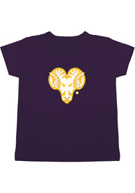 West Chester Golden Rams Toddler Scout T-Shirt - Purple