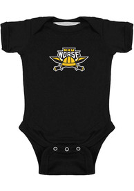 Northern Kentucky Norse Baby Bailey One Piece - Black