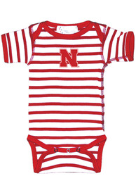 Nebraska Cornhuskers Baby Skylar One Piece - Red