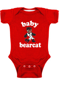Cincinnati Bearcats Baby Baby Bearcat One Piece - Black