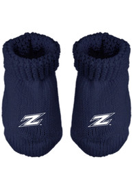 Akron Zips Baby Knit Bootie Boxed Set - Blue