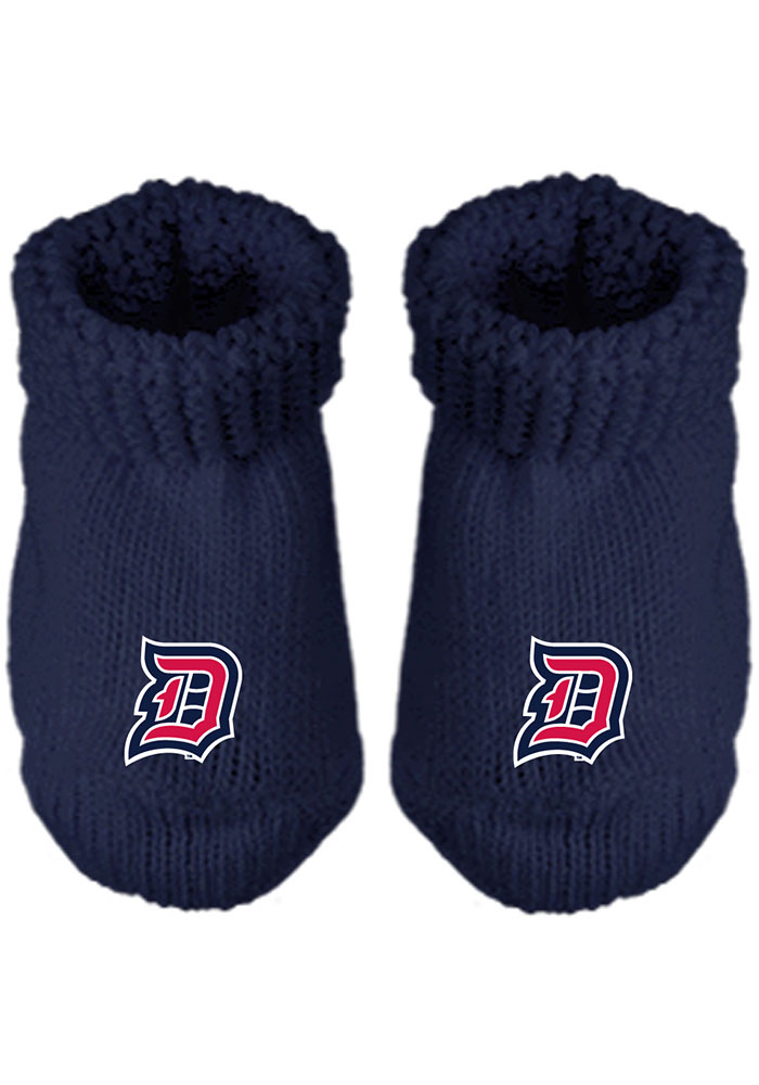 Duquesne Dukes Knit Baby Bootie Boxed Set - Image 1