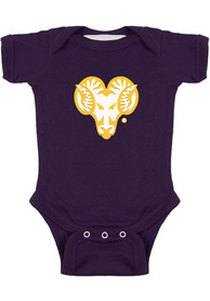 West Chester Golden Rams Baby Bailey One Piece - Purple