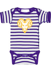 West Chester Golden Rams Baby Skylar One Piece - Purple