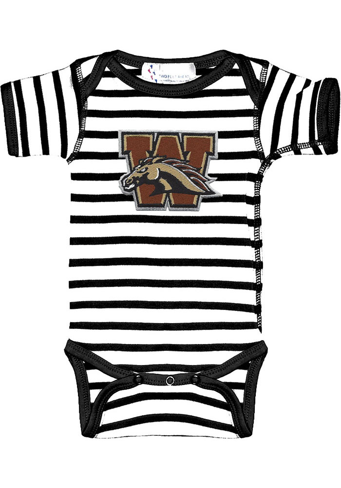 Western Michigan Broncos Baby Skylar One Piece - Black
