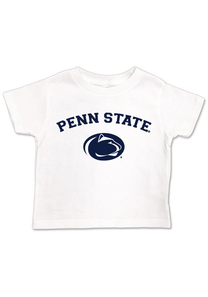 Penn State Nittany Lions Toddler White Arch Logo Short Sleeve T-Shirt - Image 1