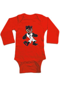 Cincinnati Bearcats Baby Mascot One Piece - Red