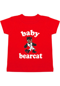 Cincinnati Bearcats Infant Baby Bearcat T-Shirt - Red