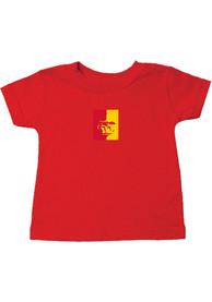 Pitt State Gorillas Toddler Logan T-Shirt - Red