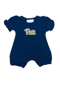 Pitt Panthers Baby Navy Blue One Piece