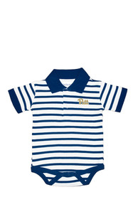 Pitt Panthers Baby Navy Blue Golf Polo One Piece