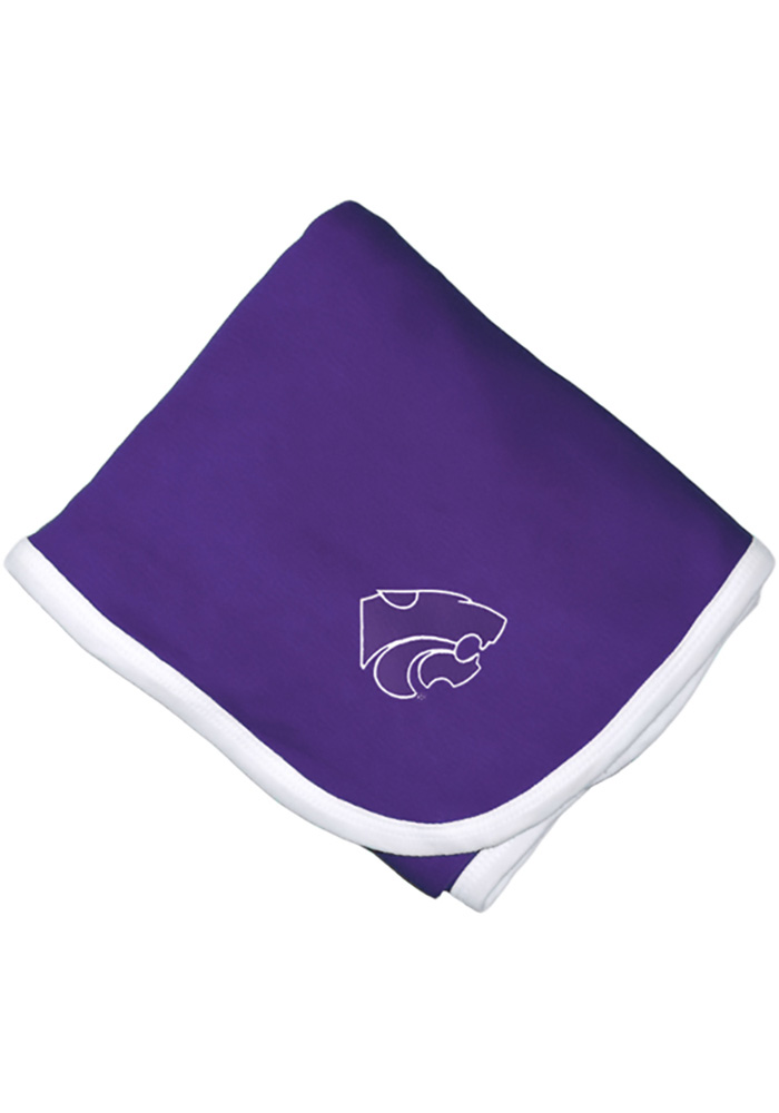 K-State Wildcats Knit Baby Blanket - Image 1
