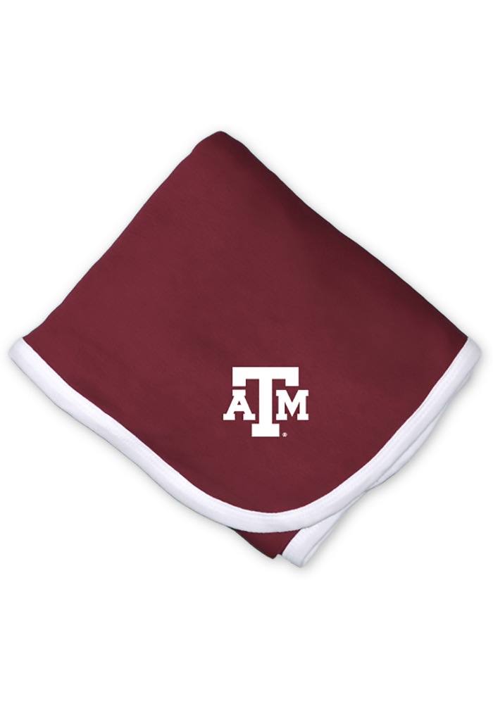 Texas A&M Aggies Knit Baby Blanket - Image 1