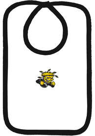 Wichita State Shockers Baby White Bib - White