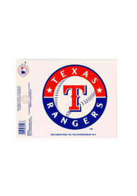 Texas Rangers Small Auto Static Cling