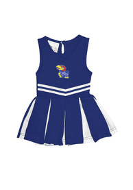 Kansas Jayhawks Baby Cheer Cheer - Blue