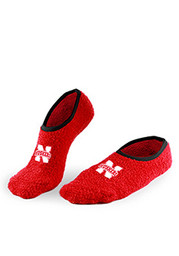 Nebraska Cornhuskers Foot-Z Womens No Show Socks