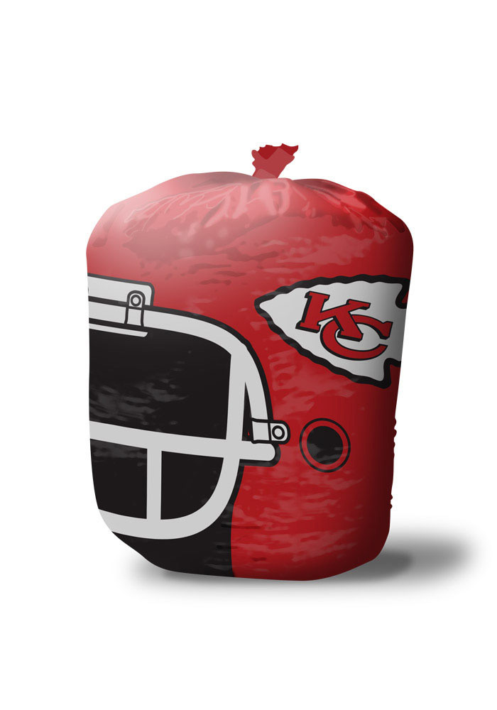 Kansas City Chiefs Stuff A Helmet Leaf Bag - Image 1