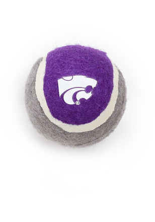 K-State Wildcats 4 Pack Tennis Ball Pet Toy