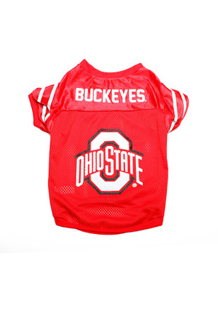 Ohio State Buckeyes Team Color Pet Jersey
