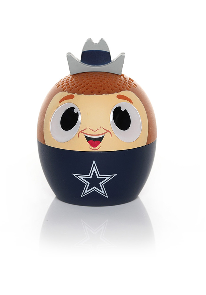Dallas Cowboys Navy Blue Bitty Boomers Bluetooth Speaker - Image 1