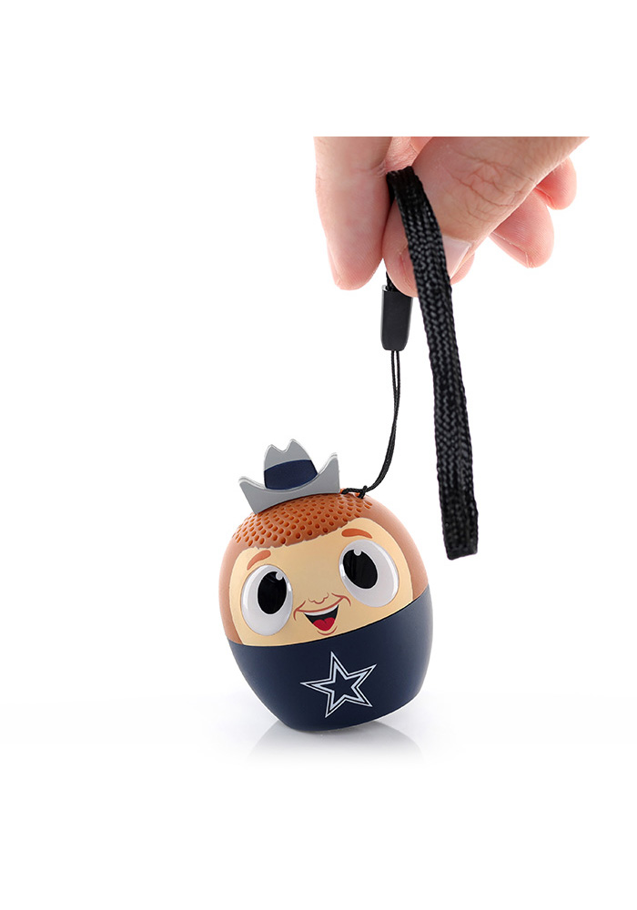 Dallas Cowboys Navy Blue Bitty Boomers Bluetooth Speaker - Image 3