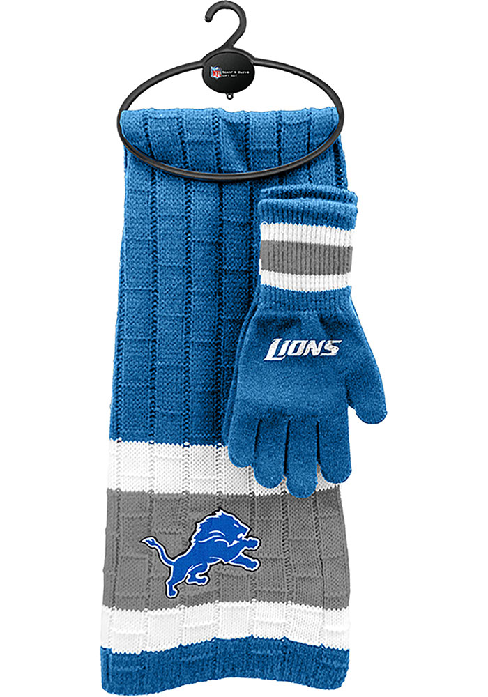 Detroit Lions Cold Weather Combo Womens Scarf - Image 1