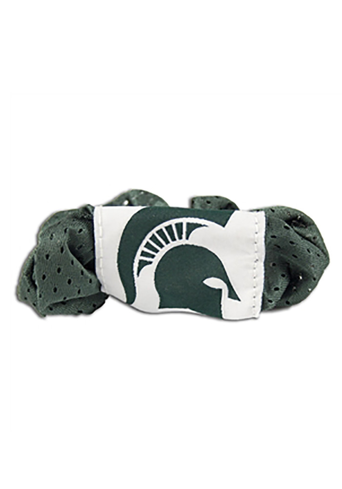 Michigan State Spartans Team Logo Youth Hair Scrunchie - Image 1
